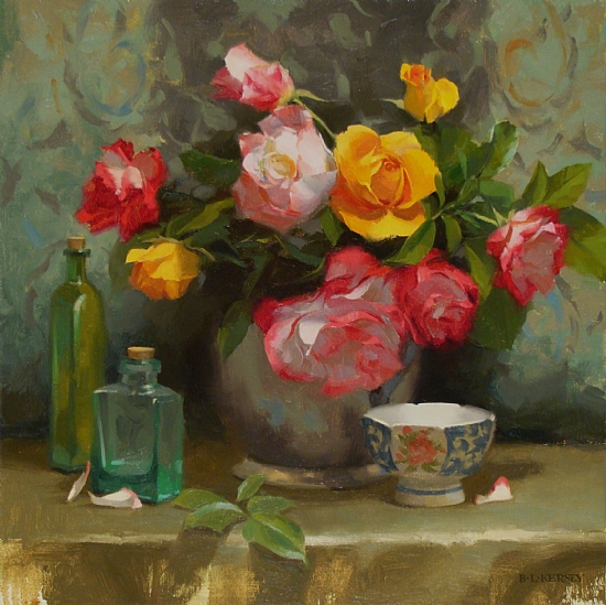 "Still Life Paintings by Canadian Artist ""Laurie Kersey"""