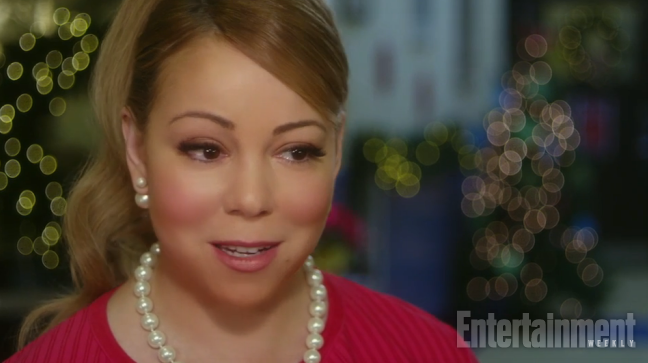 The first excerpt from the Mariah Carey Christmas film