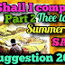QUESTION SITE|| SAQ SUGGESTION 🔥 SHALL I COMPARE THEE TO A SUMMER DAY ||PART 2