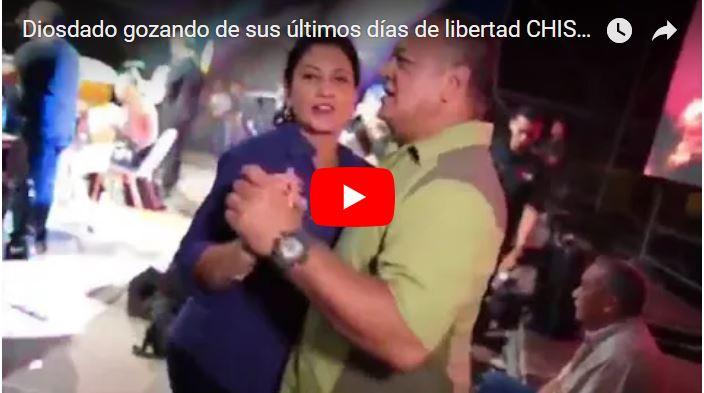 Diosdado gozando de sus últimos días en libertad