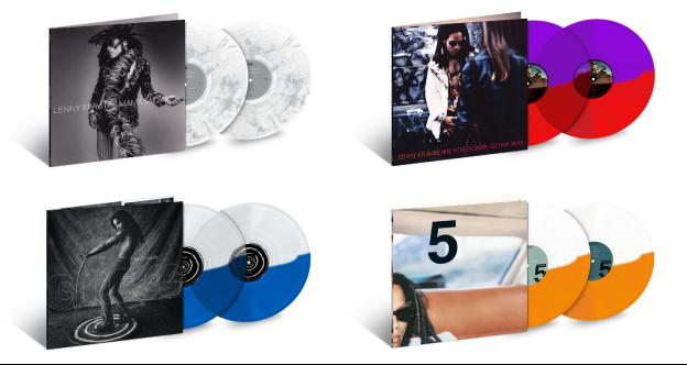 Lenny Kravitz vinyl reissues