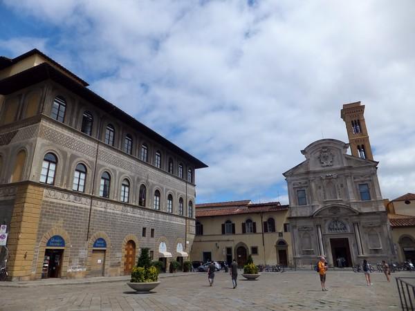 florence toscane église place ognissanti