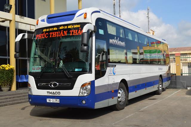 Dịch vụ cho thuê xe hợp đồng và du lịch tại Phú Yên - Xe hợp đồng và du lịch 40 & 45 chỗ