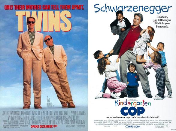 Talk Without Rhythm Episode 163 Twins 1988 And Kindergarten Cop 1990