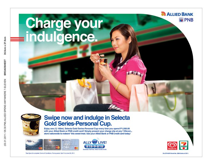 allied bank credit card fees and charges
