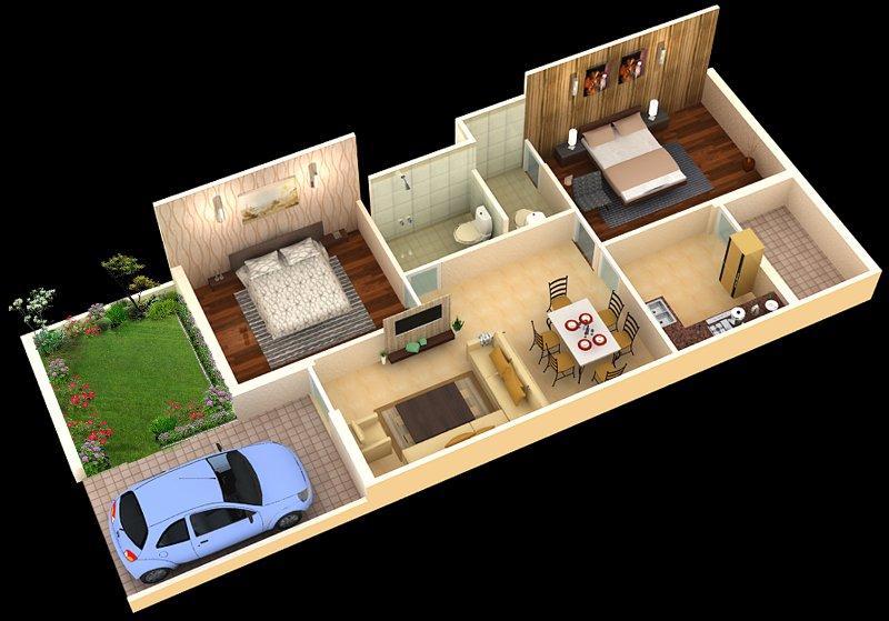 Stylish%2BModern%2BHome%2B3D%2BFloor%2BPlans%2B%252814%2529 Stylish Home 3D Floor Plans Interior