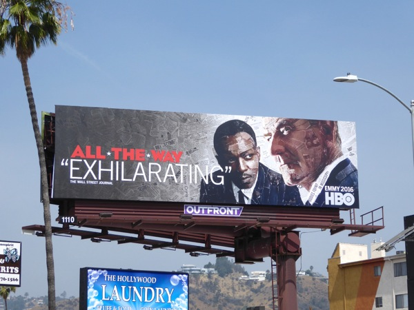 All The Way HBO Films Emmy 2016 billboard