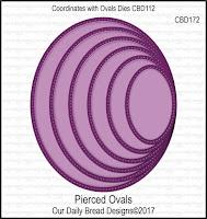 ODBD Custom Pierced Ovals Dies