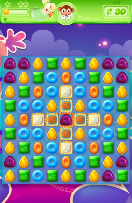 Candy Crush Jelly Saga 162