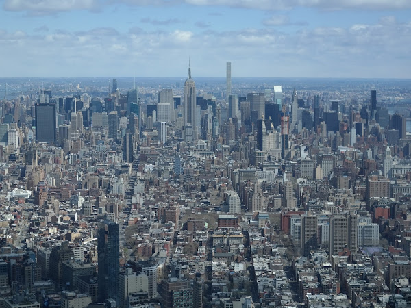 New York - One World Trade Center, Woodbury Commons, Empire State Building and The Ring