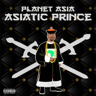 Planet Asia - Asiatic Prince (EP) (2016) - Album Download, Itunes Cover, Official Cover, Album CD Cover Art, Tracklist