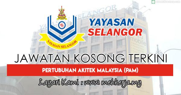Jawatan Kosong Terkini 2018 di Yayasan Selangor