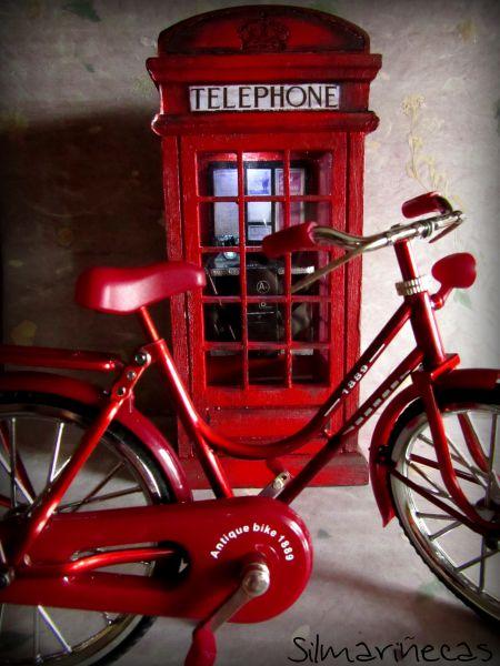 cómo decorar una cabina teléfono inglesa K2
