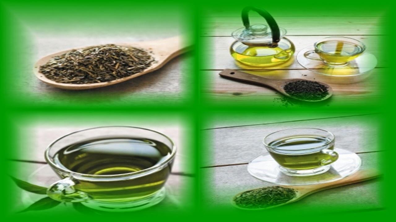 Batido detox de te verde