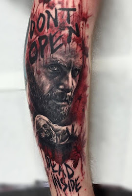 Tatuajes de The Walking Dead : Tatuaje de Rick Grimes