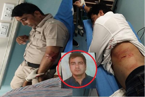 CM सिटी में सनसनी, कोर्ट में बदमाशों ने गैंगेस्टर नीरज पूनिया पर चलाई गोलियां, 2 पुलिसकर्मी भी घायल