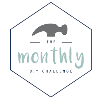 The Monthly DIY Challenge- Each month a group of DIY bloggers chooses a challenge item or theme and each comes up with their own creative way to use it! So many great ideas!