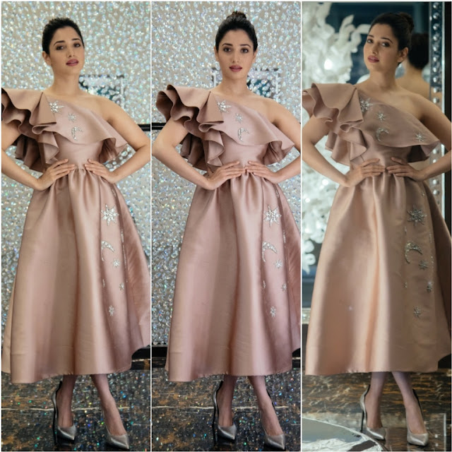 Tamannaah Bhatia in a Reem Acra Dress