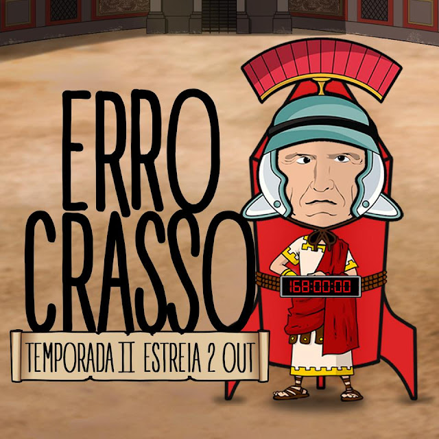 2ª temporada de 'Erro Crasso' está de volta ao Youtube