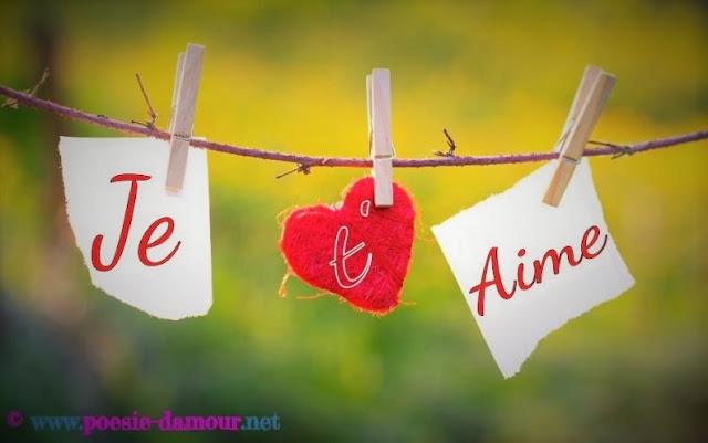 Quelques mots d'amour romantiques pour dire je t'aime