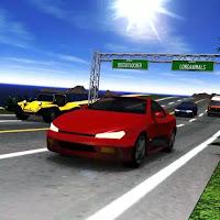 لعبة سباق سيارات امريكا اون لاين