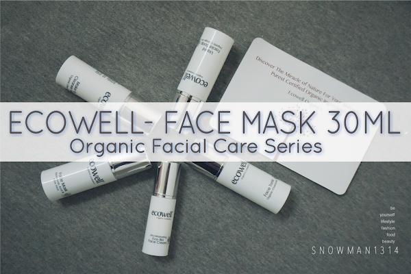 [Review] Anti-aging Ecowell Facial Care Essentials - Face Mask