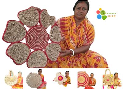 Manualidades de la India con yute de RoyalBengal