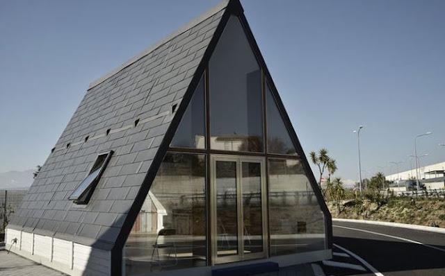 M.A.Di Home - Το σπίτι που δεν χτίζεται αλλά συναρμολογείται σε 6 ώρες (video)