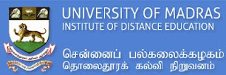 Madras University Distance Education