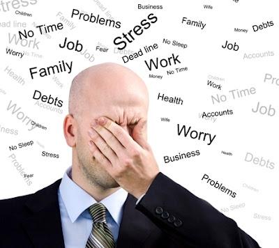 Pengertian, Penyebab dan Akibat Stres Kerja