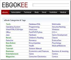 ebookee.com  محرك ببحث مجانى عن الكتب الالكترونية