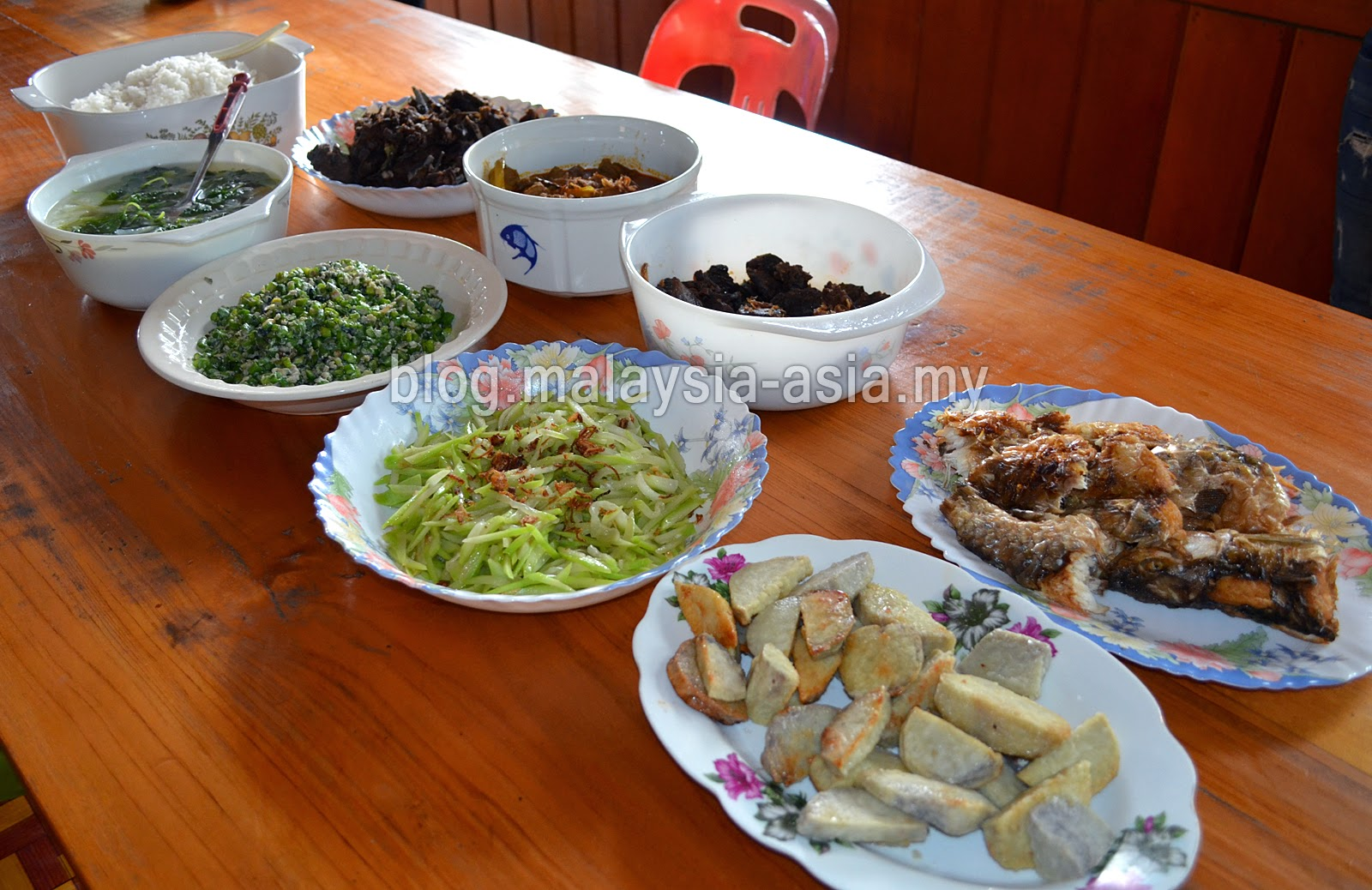 Kelabit Food in Bario