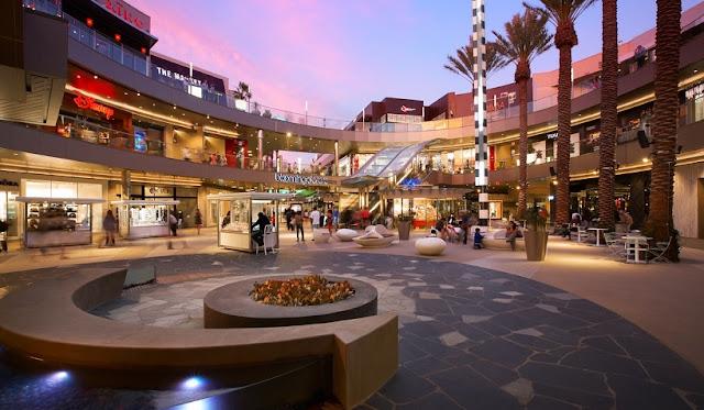 Tour pelo Shopping Santa Mônica Place em Santa Mônica
