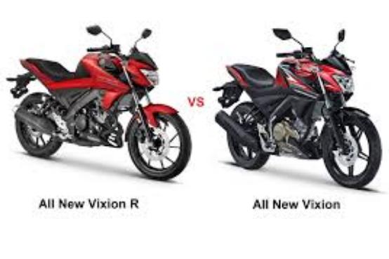Persamaan dan perbedaan All New Vixion 150 cc dan All New Vixion R 155 cc, beserta harganya.