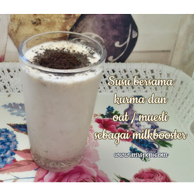 Homemade milkbooster untuk breastfeeding ketika puasa