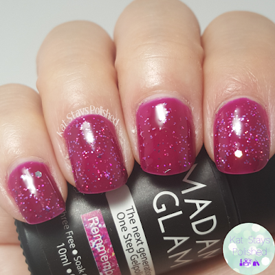 Madam Glam One Step Gel - Remember Me | Kat Stays Polished