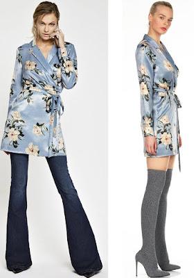 Foro di kimono a camicia di Denny Rose