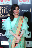 Samantha Ruth Prabhu Smiling Beauty in strange Designer Saree at IIFA Utsavam Awards 2017  Day 2  Exclusive 30.JPG