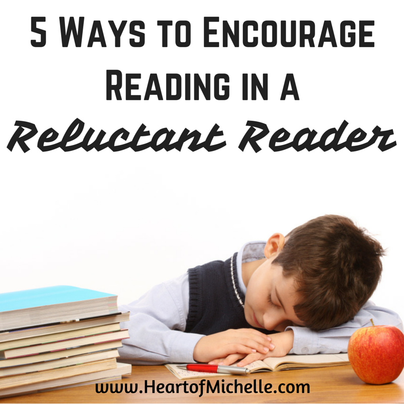 In recognition of National Reading Month, I'm sharing tips for encouraging reluctant readers.
