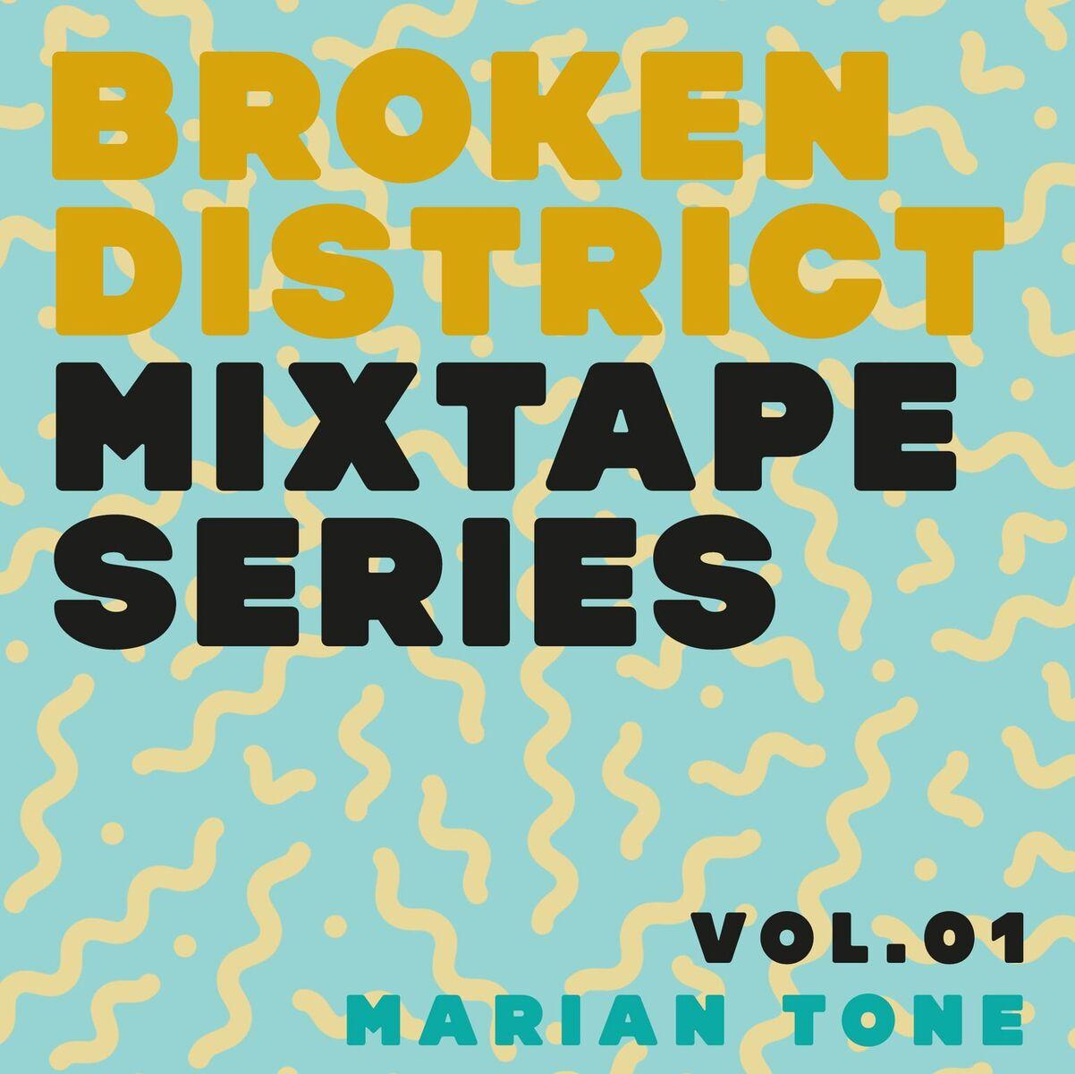 BKD Mixtape Series - Vol.01 - Marian Tone | Das Mixtape zum Wochenende