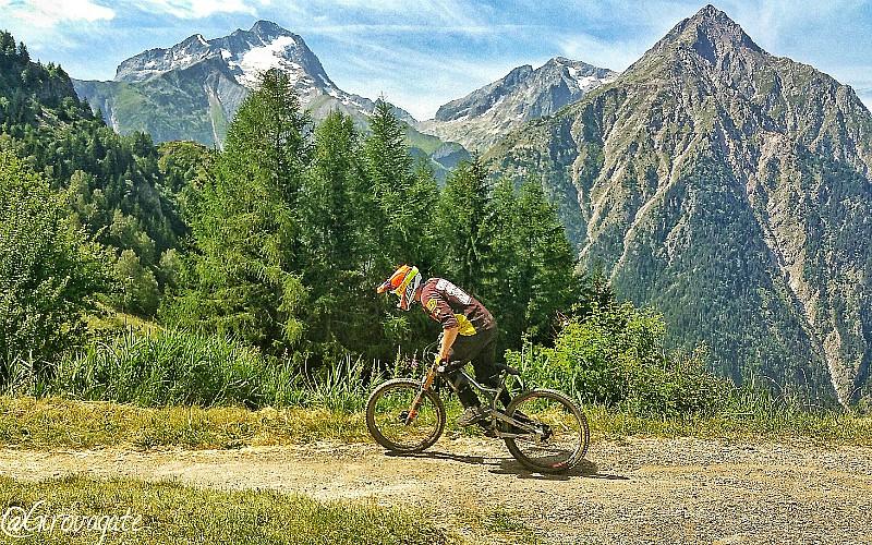 downhill MB Les 2 Alpes