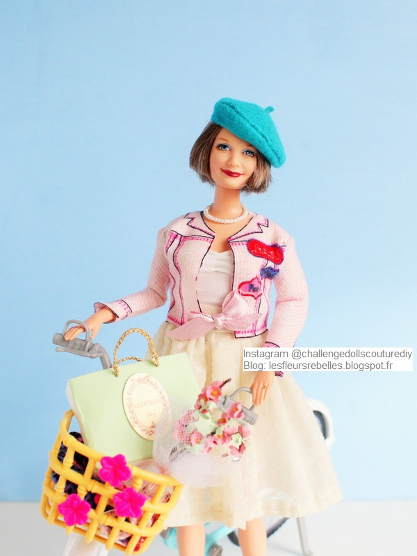Barbie Grandma Happy Family look parisienne