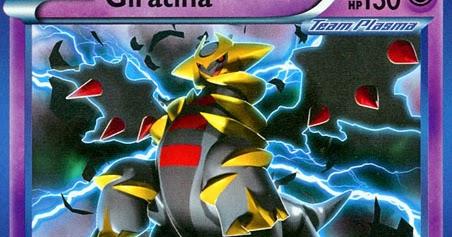 Giratina -- Plasma Storm Pokemon Card Review ...
