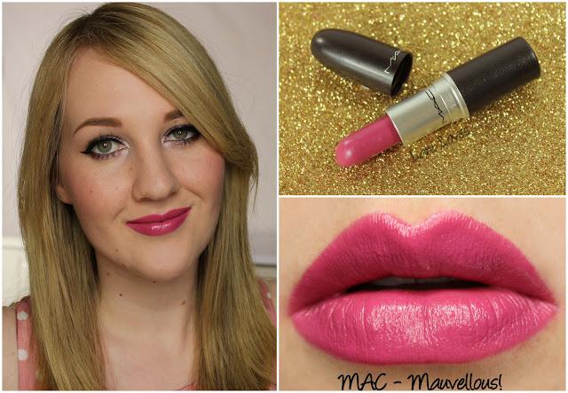 MAC Mauvellous! lipstick swatch