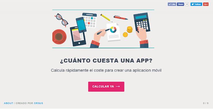 ¿Cuánto cuesta crear una app? La calculadora de aplicaciones móviles