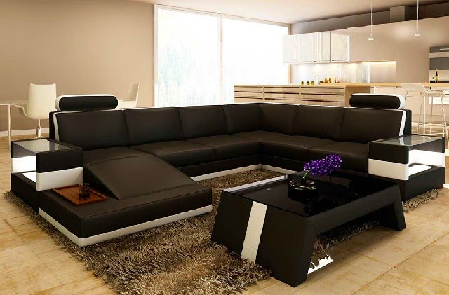 Modern Large Sectional Sofa