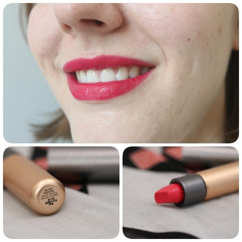 friday lipstick 1 coup de coeur pour les velvet passion. Black Bedroom Furniture Sets. Home Design Ideas