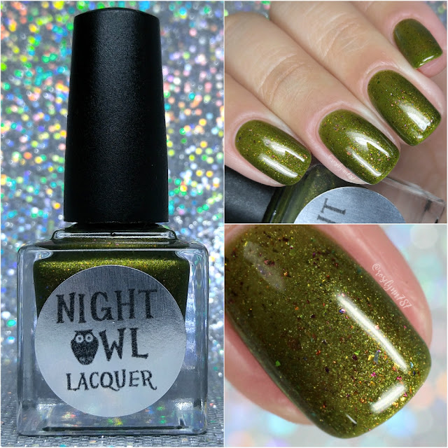 Night Owl Lacquer - Polish Pick Up - September 2017