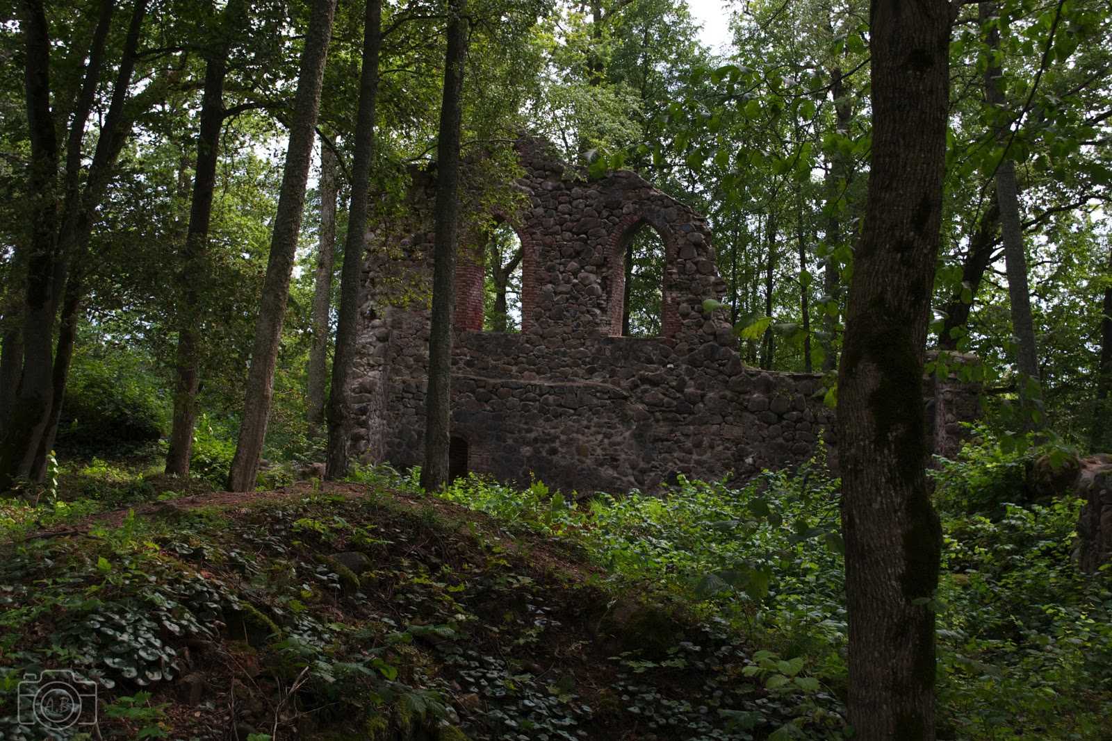 Ruines Krimulda sigulda photographie carnet voyage Nikon D3100