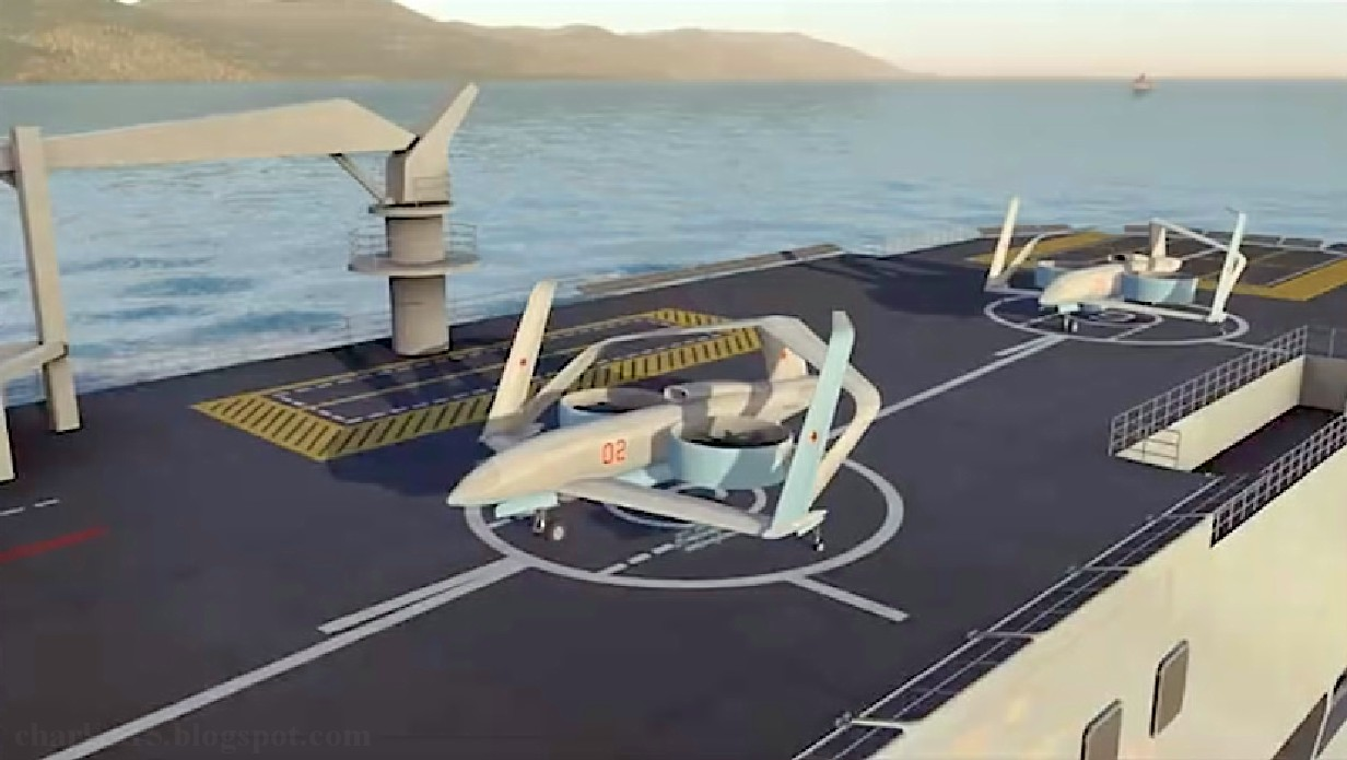Future russian aircraft carriers. #2 - Page 2 Drone%2BFregat